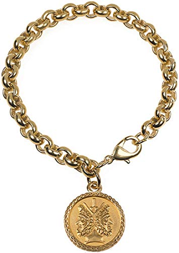 (Janus 2-sided Charm Bracelet from our Museum Store Collection)