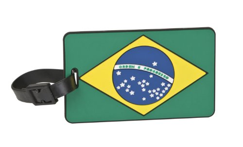 Travelon Brazil Flag Tag One-Color, One-Color, One Size
