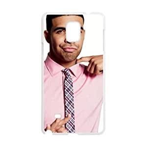 C-EUR Customized Print Drake Hard Skin Case Compatible For Samsung Galaxy Note 4