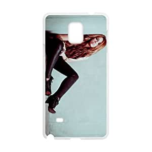 miley cyrus hot Samsung Galaxy Note 4 Cell Phone Case White Gimcrack z10zhzh-3233274