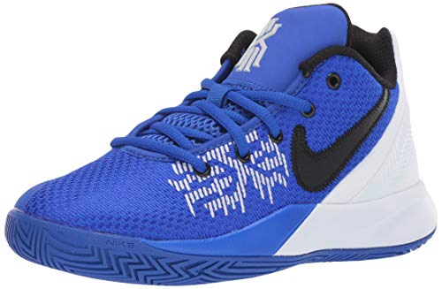 Nike Boy's Kyrie Flytrap II Basketball Shoe Racer Blue/Black/White Size 5 M US