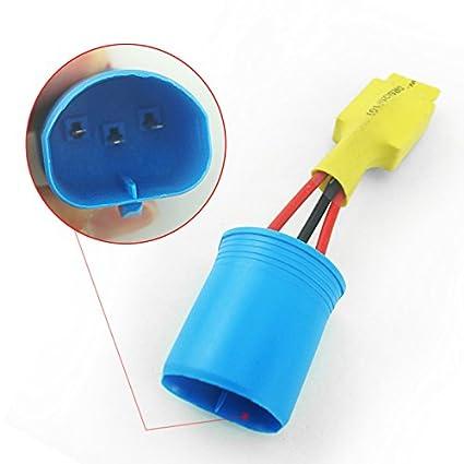 FEELDO Car H4 HID Error Free Warning Canceller Anti-Power Leakage Module Load Resistor NO Flickering