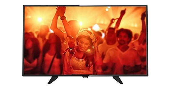 Philips 48PFK4101/12 Televisor LED Full HD de 48 Pulgadas con Digital Crystal Clear, DVB-T/C/S/S2, Color Negro: Philips: Amazon.es: Electrónica