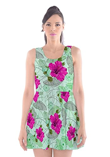 CowCow - Vestido - para mujer Green Hawaii
