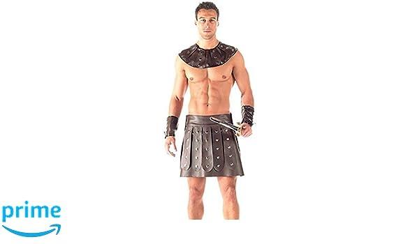 Disfraz de gladiador para hombre, 3x.: Amazon.es: Ropa y ...