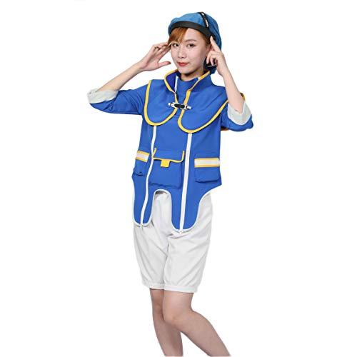 Kingdom Heart 3 Donald Duck Cosplay Costume Disney's Cartoon Character Uniform Full Set Suit]()