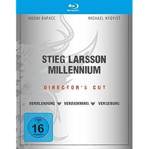 amazon: Stieg Larsson - Millennium Trilogie (Director's Cut) auf Blu-ray für nur 24,97€ inkl. Versand
