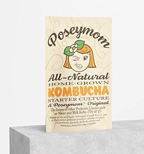 Poseymom Kombucha Scoby and Starter Tea 1/2Cup Starter