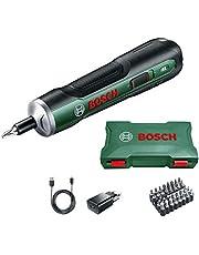 Bosch skruvmejsel PushDrive (3,6 volt, 32 bitar, förvaringslåda)
