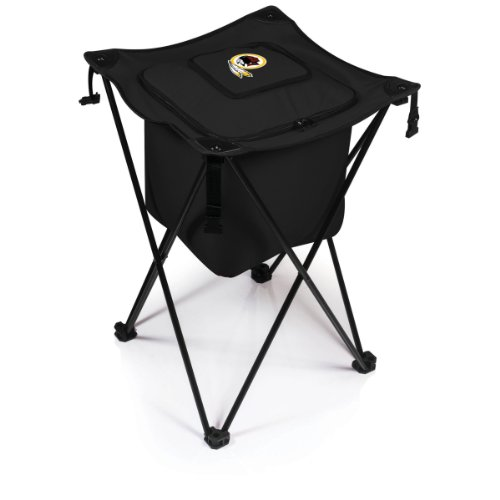 (NFL Washington Redskins Sidekick Insulated Portable Cooler with Integrated Legs, Black)