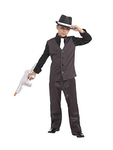 20's Lil' Gangster Child Costume, Medium