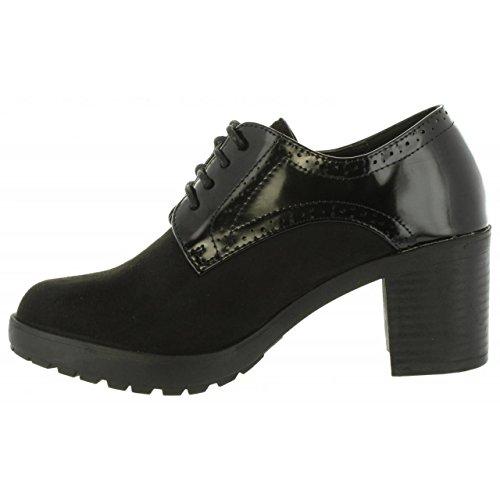 XTI Women Mid Boots 47204 Antelina C Negro CYT0cUaCD3