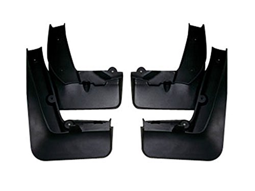 Pu Mud Flap Splash Guards for Jaguar XJ 2012 2013 by JPCarbon