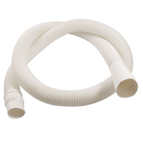 "Washing Machine Drain Hose - SODIAL(R) 57"" Length Flexible Elbow Drain Hose White for Washing Machine"