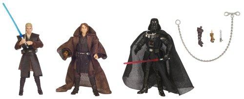 Hasbro Star Wars 3.75 Inch Evolutions - Anakin Skywalker to Darth Vader Legacy 3Pk ()