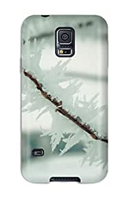 Fashion Protective Iced Branch Case Cover For Galaxy S5 by lolosakes