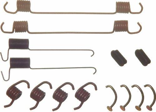 Ford Rotor E-350 Brake (Wagner H7164 Drum Brake Hardware Kit, Rear)