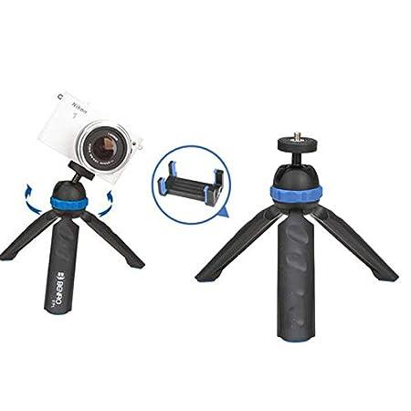 Xinrangxin - Trípode Plano para cámara de teléfono móvil 2 en 1 ...