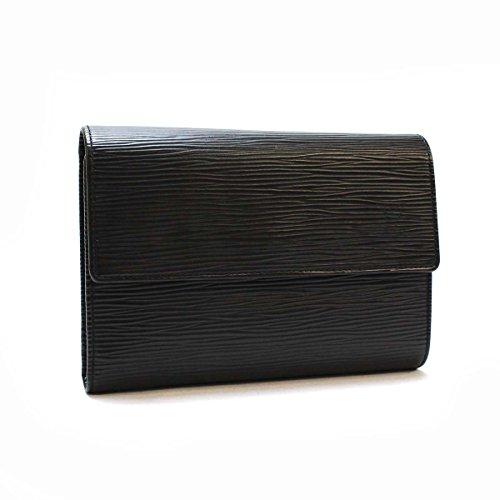 ルイ・ヴィトン 3つ折り財布 エピ ポルトトレゾールエテュイパピエ M63712 ノワール