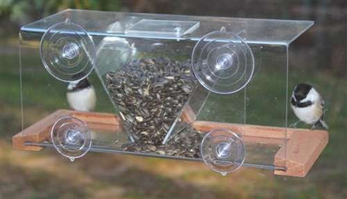 Songbird Essentials Mounted Feeder Capacity