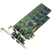 Mainpine, Inc. RF5122 IQ Express 4-Line PCI Express Fax Board (Low and Standard Profile)