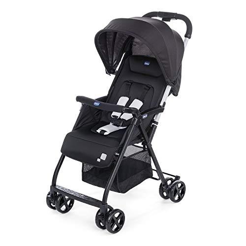 Chicco Ohlala 2 - Silla de paseo ultra ligera y compacta, fácil conducción, solo pesa 3,8 kg, color negro (Black Night) a buen precio