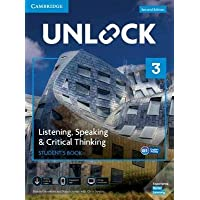Unlock Level 3 Listening, Speaking & Critical Thinking Student's Book, Mob App and Online Workbook w/ Downloadable Audio…