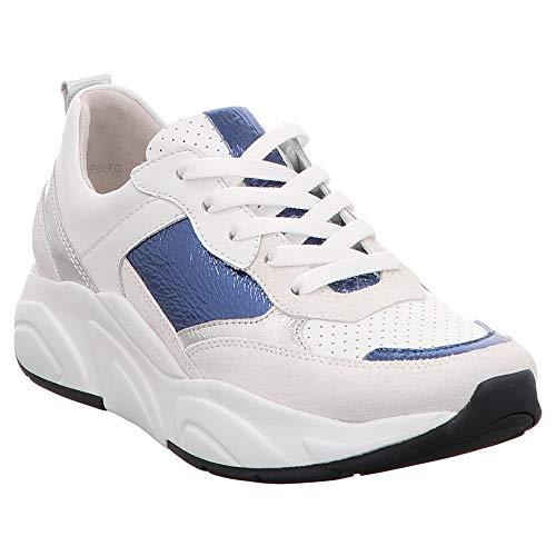 Mujer Para Zapatillas 91 Kennel amp; Blanco 19640 Schmenger 668 xw4T0qpF