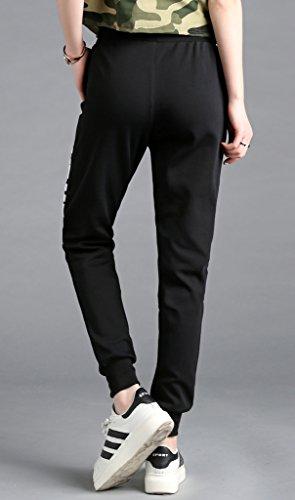 Lixmee - Pantalón - para mujer _608Black