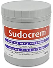 Sudocrem - Diaper Rash Cream for Baby, Soothes, Heals, and Protects, Relief and Treatment of Diaper Rash, Zinc Oxide Cream - 400g