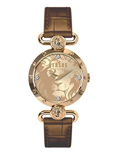 Versus by Versace Women's SOL060015 SUNNYRIDGE Analog Display Quartz Brown Watch