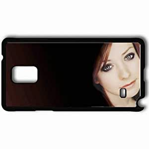 Personalized Samsung Note 4 Cell phone Case/Cover Skin Alyson Hannigan Alyson Hannigan Actors Black by lolosakes