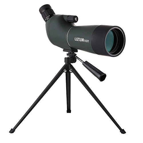 LU2000 Telescope 20-60x60 AE Waterproof Angled Astronomy Spotting Scope with Tripod, 45-Degree Eyepiece, Optics Zoom 39-19m/1000m Mono for Bird Animal Watching Wildlife Scenery