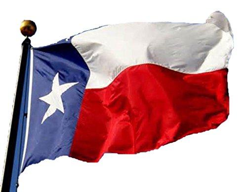 Flag ,Vanvler Texas Flag 3x5 Ft ,Nylon Polyester Deluxe Lone Stars USA Flag (Multicolor) (Embroidered Nylon Tie)