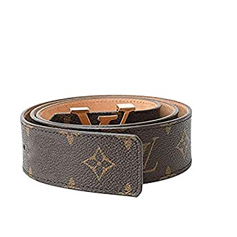 Women's Fashion Designer Brown Gold Belt Genuine Leather Alloy Buckle Casual Business For Men and Women - brown - 125