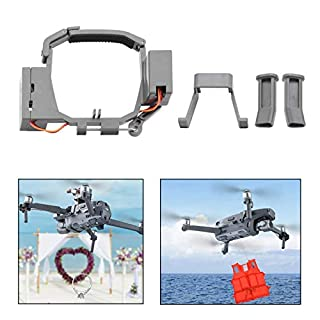 iEago RC Transport Release Thrower Device Air Dropping System Fishing Bait Released Wedding Proposal Drone Delivery Device for DJI Mavic PRO (Not for Mavic 2 Pro)