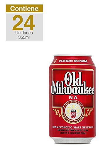 Old Milwaukee, Lager Sin Alcohol, caja 24 latas, Estados Unidos