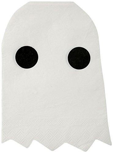 Meri Meri 45-2364 Ghost Napkins (Cygnet Studios Costumes)