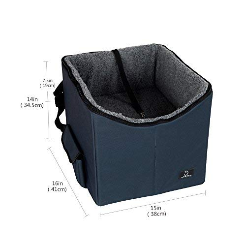 A4Pet Lookout Dog Booster Car Seat//Pet Bed at Home Easy Storage and Portable