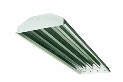 Howard Lighting HFA2A454APSMV000000I 4 Lamp High Bay Fluorescent Standard Specular Aluminum Reflector