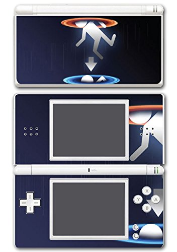 Portal 1 2 Gun Chell Gladdos Wheatley Aperture Science Video Game Vinyl Decal Skin Sticker Cover for Nintendo DS Lite System