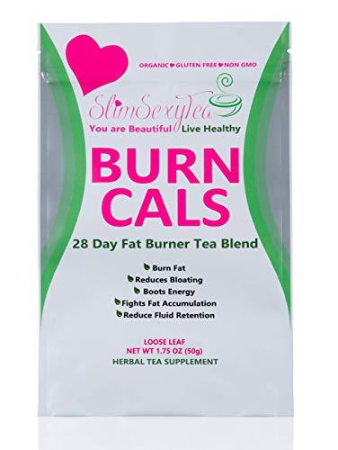 Detox Tea Burn Cals Tea All Natural-Weight Loss Tea Blend- 28 Days Slimming Tea - Loose Leaf -Reduces Bloating-Natural Ingredients- Keto by slimsexytea (Image #4)