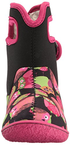 Bogs Winter Snow Baby Penguins Classic Black Owls Boot Multi rwAHtrnfqx