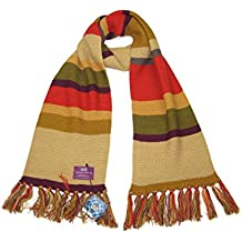 Dr Who Doctor Who (Tom Baker) Scarf In Short Length - Official BBC Scarf by LOVARZI