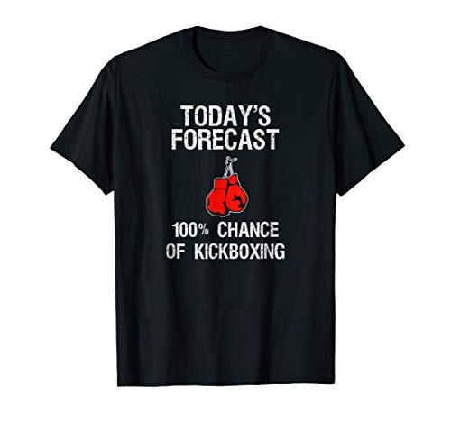 Kickboxing T-Shirt Gift - Funny Kickboxer Today's ()