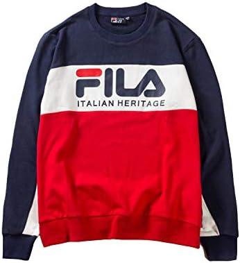 FILA Italian Heritage Multi Color Sweater Shirt for Unisex ...