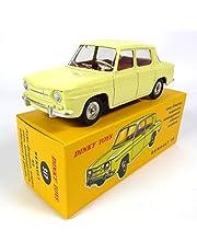 Unbekannt Renault 8 R8 gul – Dinky Toys Atlas – NOREV miniatyr bil – 517