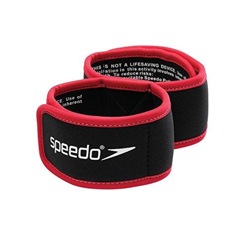 Speedo 7530163 Unisex Pulling Ankle Lock, Black, - Band Swim Ankle