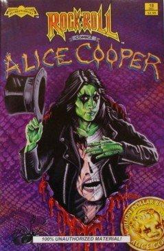 Rock 'n' Roll Comics #18: Alice Cooper