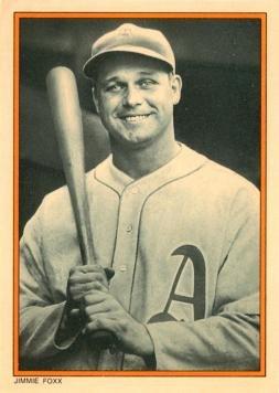 1985 Topps Circle K All Time Home Run Kings 7 Jimmie Foxx Baseball Card
